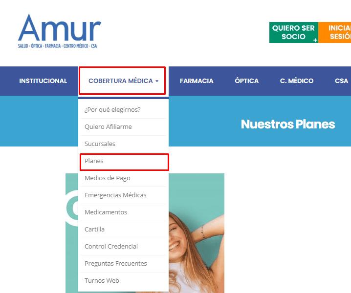 Consulta los planes de Amur fácilmente